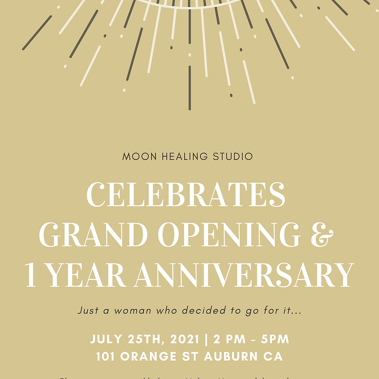 Grand Opening & 1 Year Anniversary Celebration