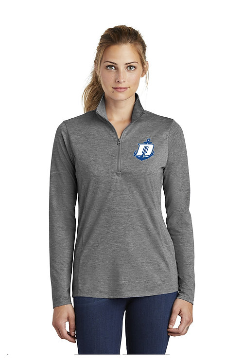 TriBlend Quarter Zip Ladies