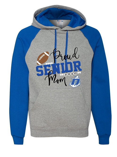Danbury Football Moms Hoodie - Custom with Name & Number