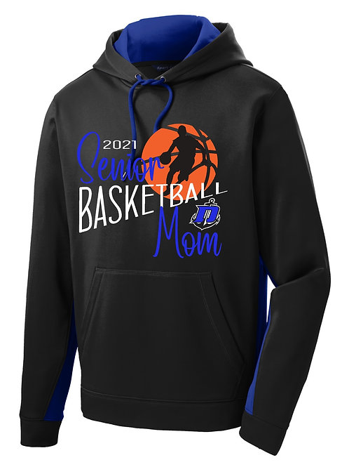 Senior Basketball Mom - Hoodie (Personalized)