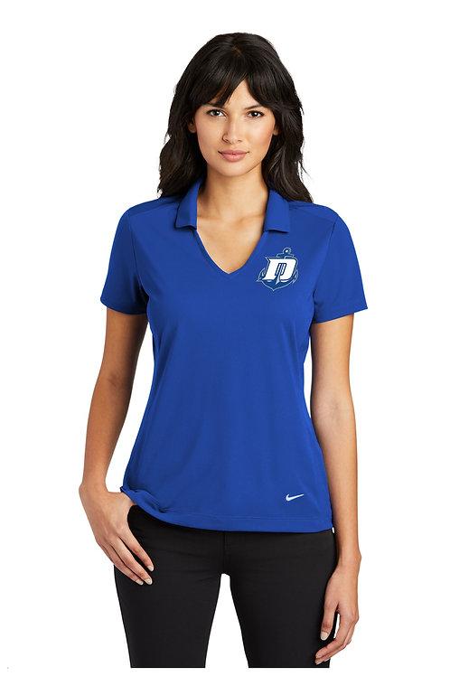 Nike DriFit Vertical Mesh Polo Ladies