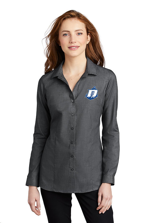 Pincheck Easy Care Shirt Ladies