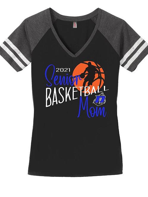 Senior Basketball Mom - Short Sleeve