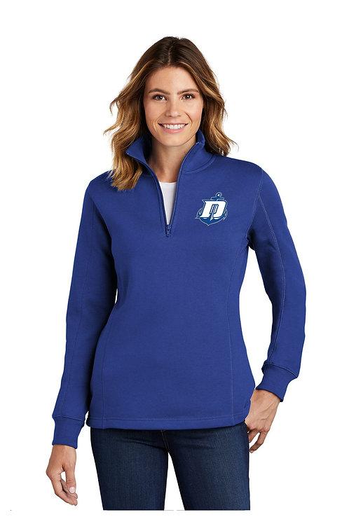 Quarter Zip Sweatshirt Ladies
