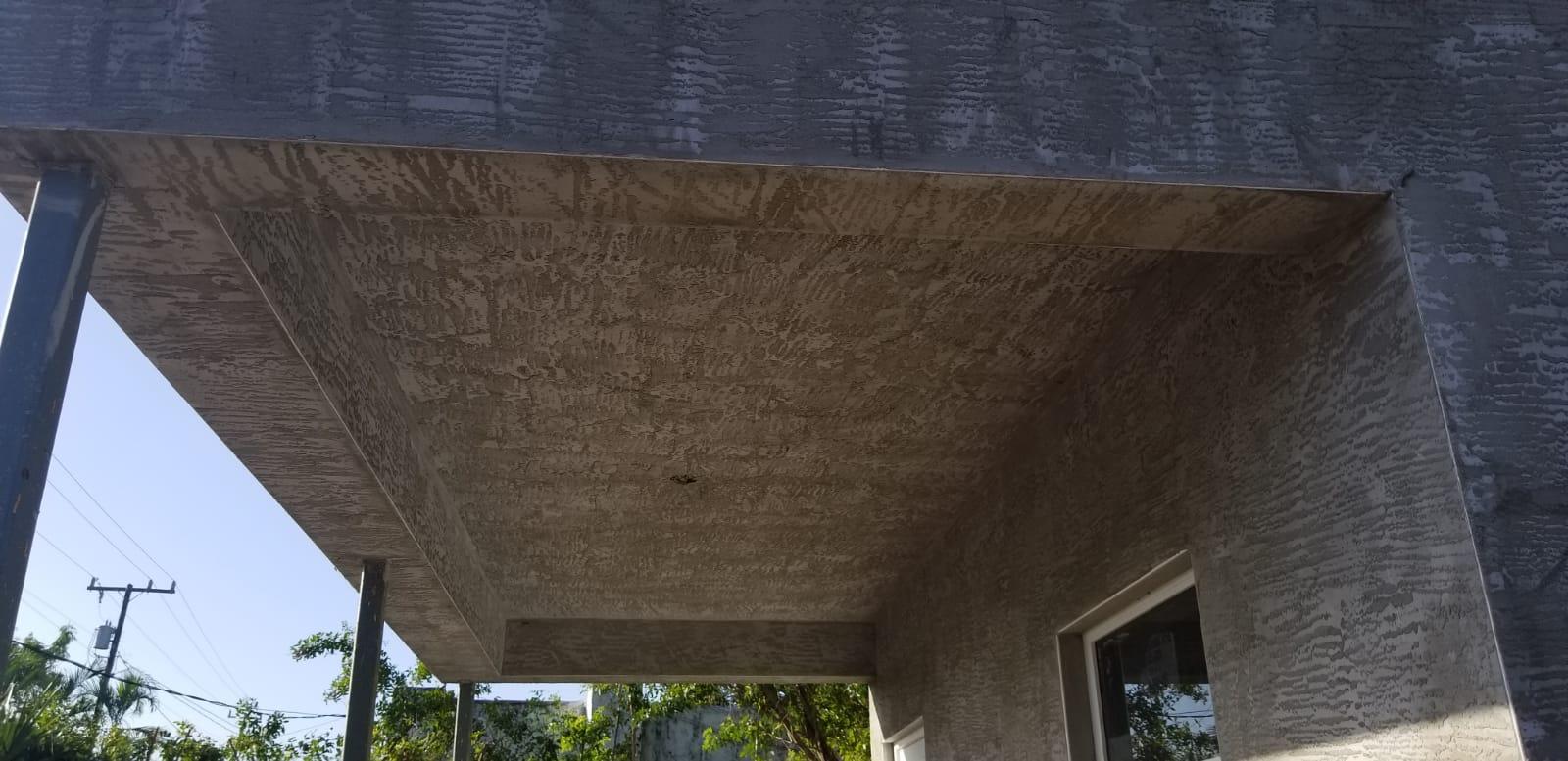 Stucco Porch Soffit