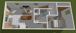 First Floor Container Home -Top View
