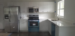 Container Home Completed Kitchen
