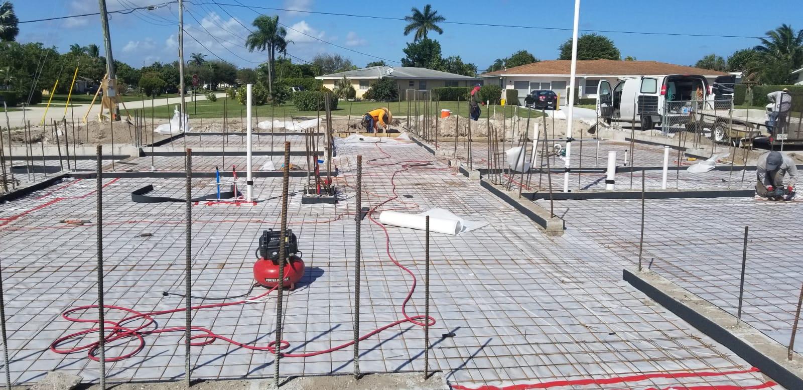 Concrete Pad Prep