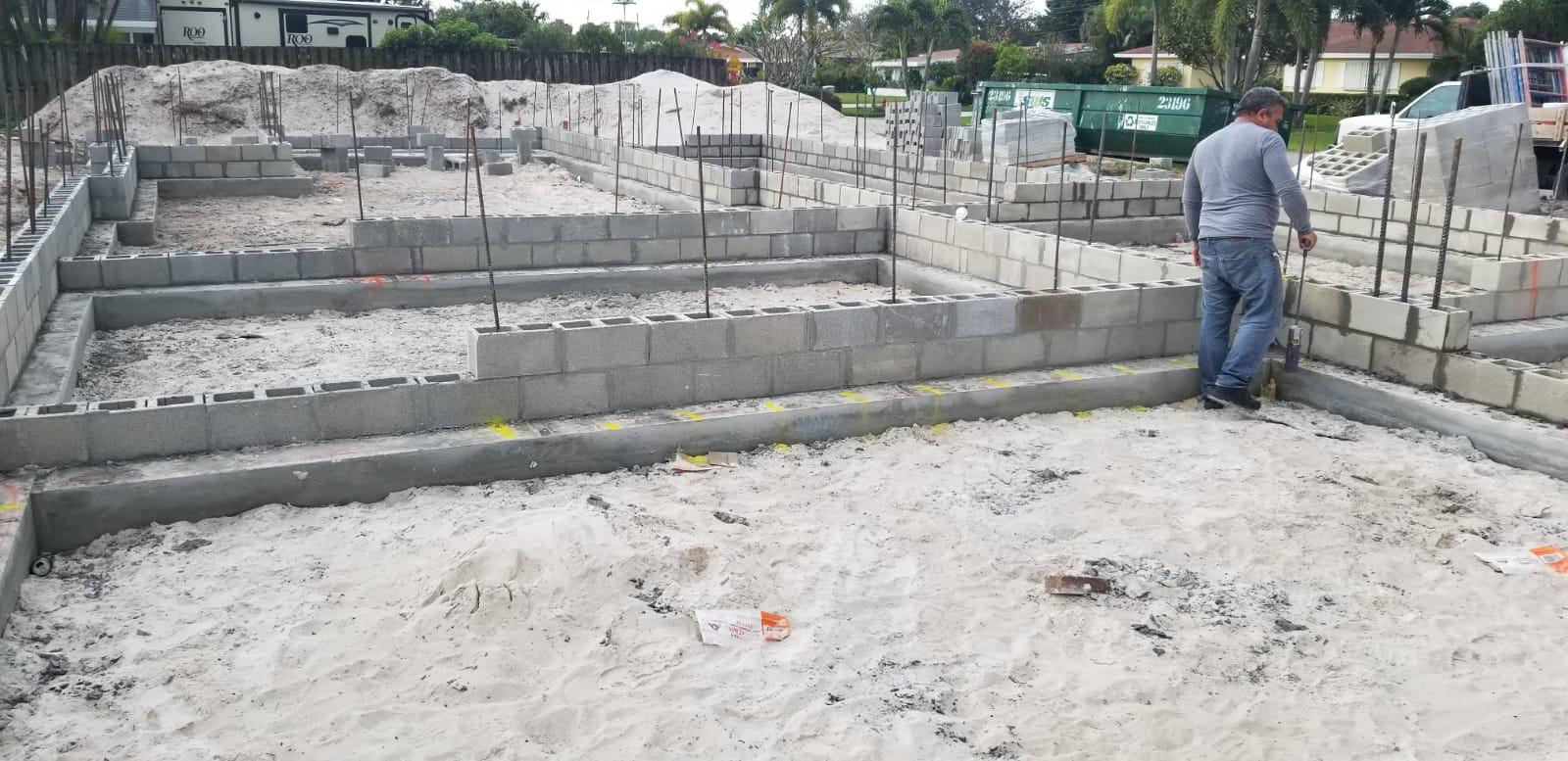 Vertical Walls in progress