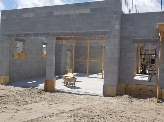 Garage Prep for concrete ceiling pour