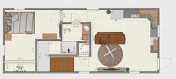 First Floor Plan Container Home Plan