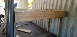 Container Home Stairwell Prep