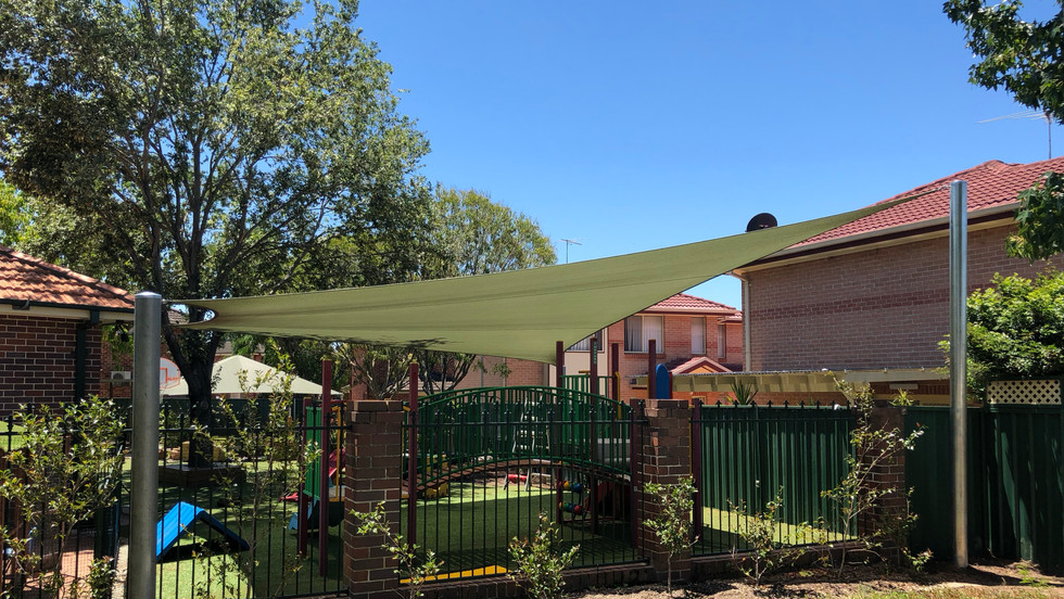 Shade Sail Child Care
