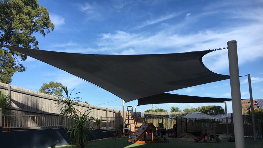 Shade Sails Child Care