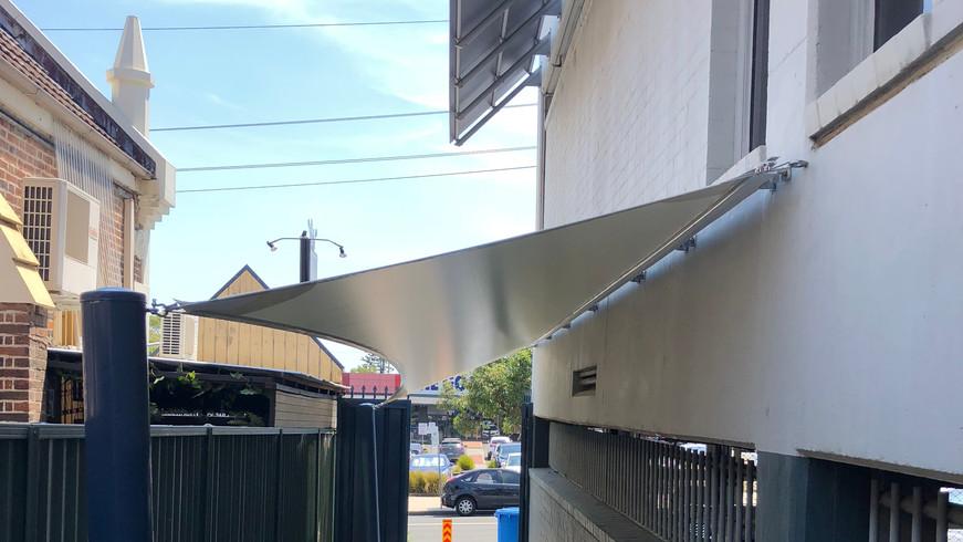 PVC Shade Sail