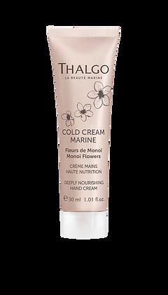 Crème Mains Haute Nutrition - Fleurs de Monoï - 30ml