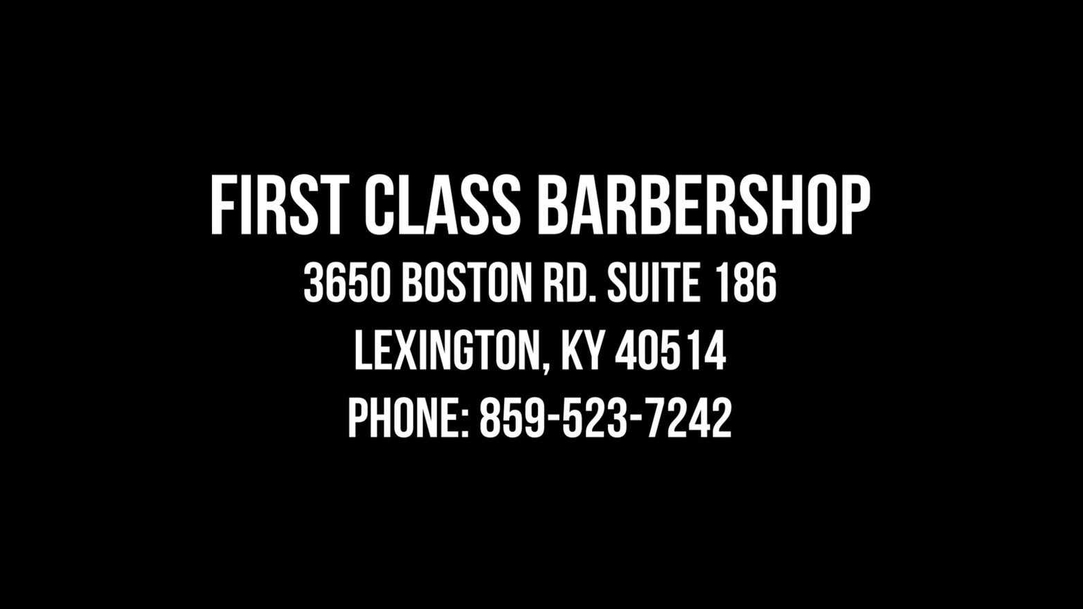 First Class Official Commercial 2.mp4