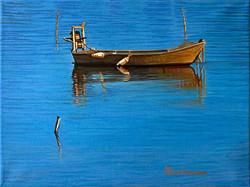 Barque au repos