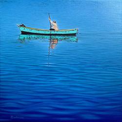 Vieil homme en mer