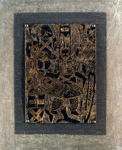 Linogravure Dogon