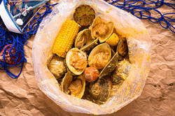 Top neck clam