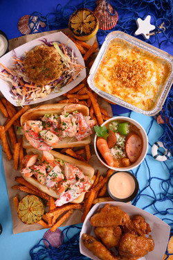 Gumbo and Lobster Roll