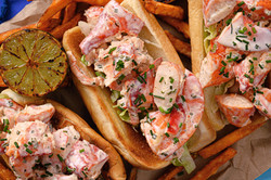 Close up of Lobster Roll