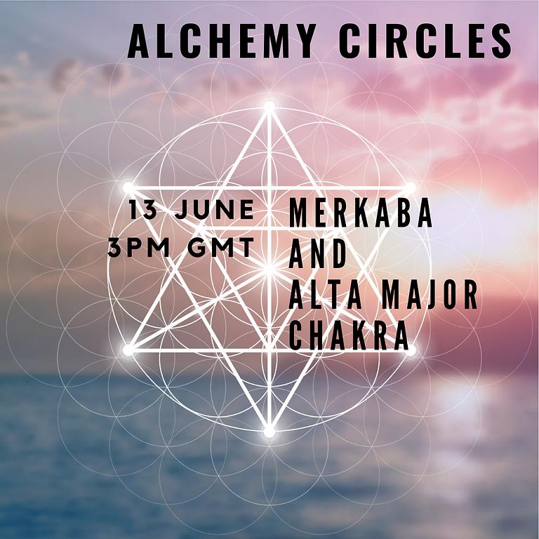 Alchemy Circles - Alta Major and Merkaba