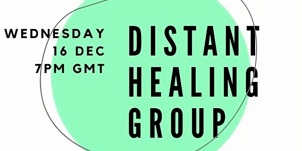 Monthly Distant Healing Group