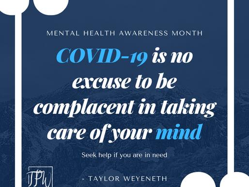 Mental Health Awareness Month Aimed to Address Stigma