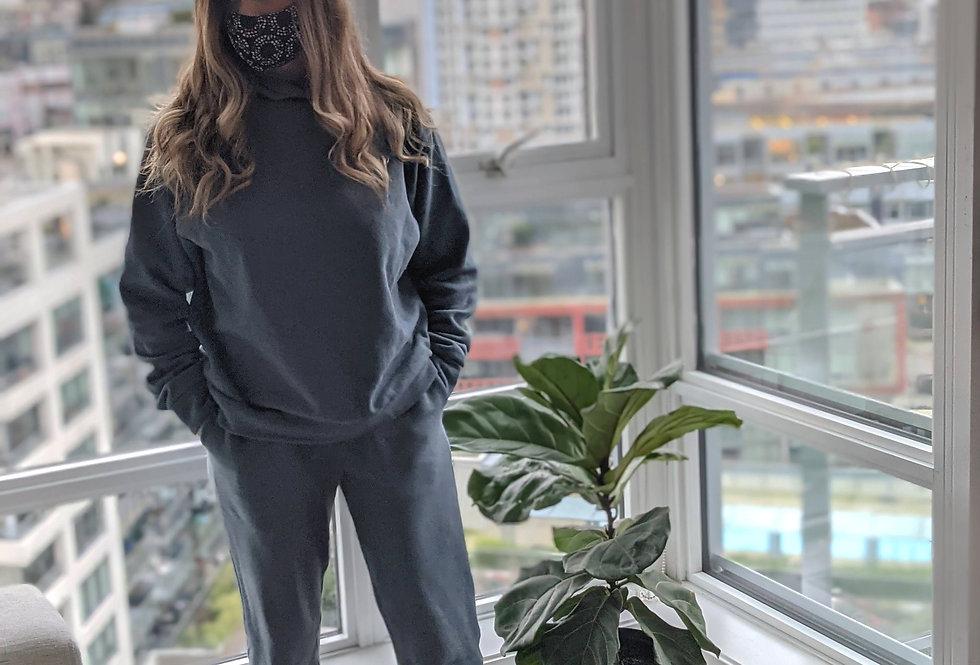 Sweatshirt - Banded Hem