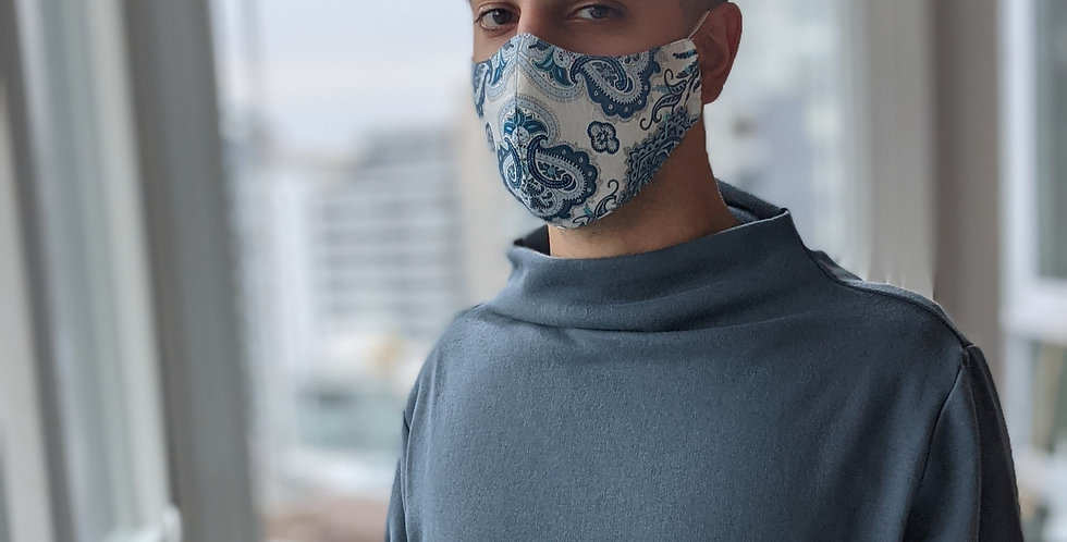 Face Mask - Fitted (Prints)
