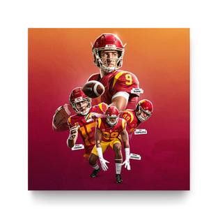 USC Football Social Media