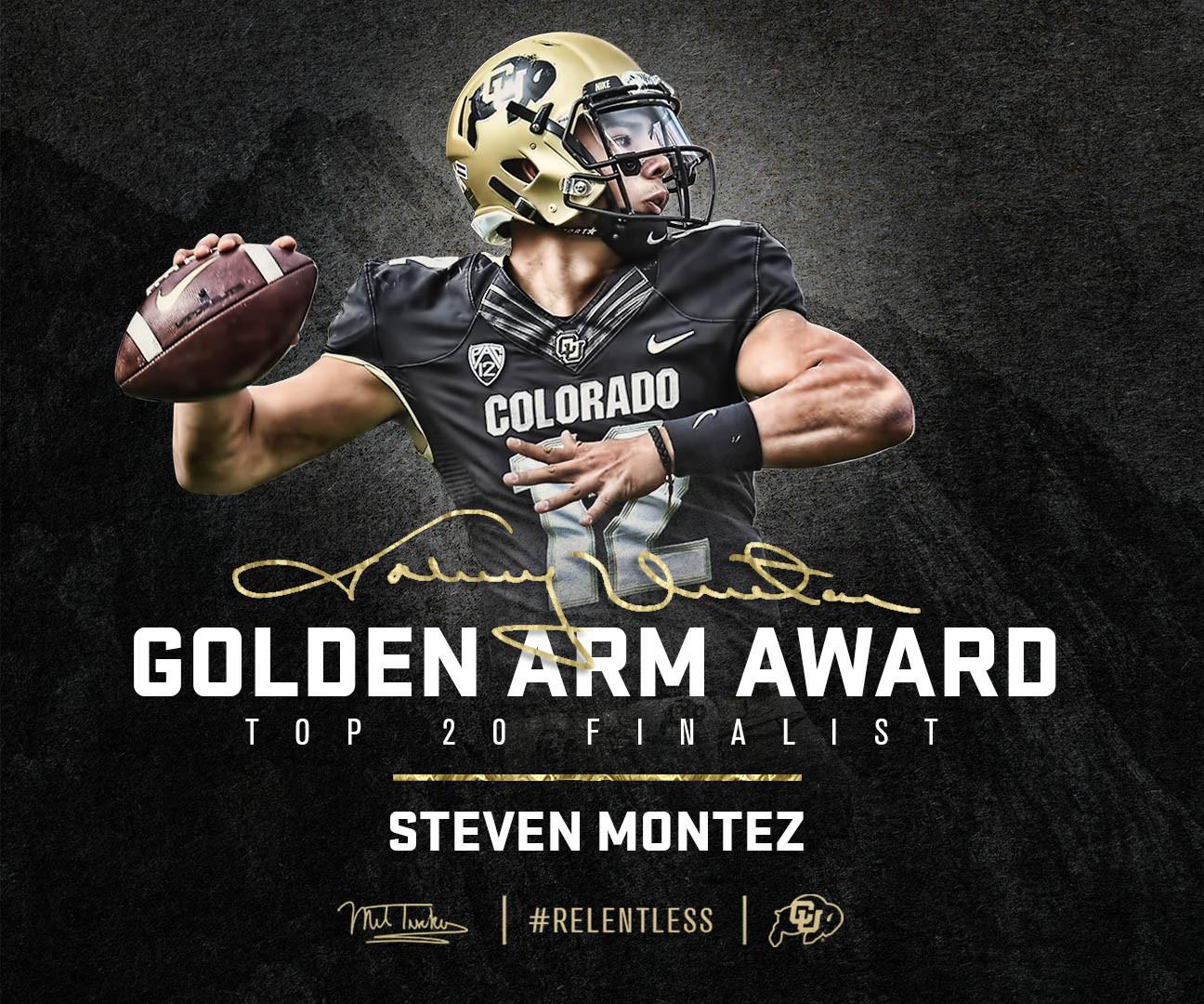 Steven Montez - Johnny Unitas Golden Arm