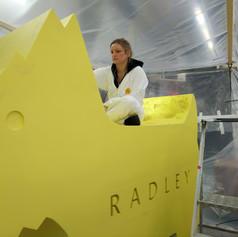 Radleys Golden Glitter Dog
