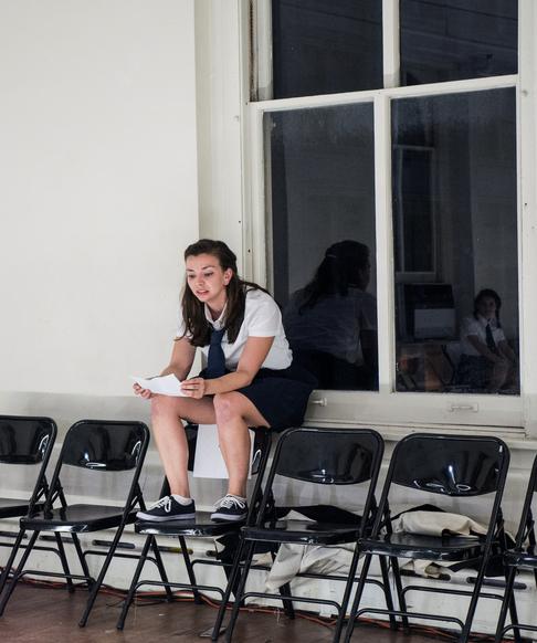 Violeta Picayo as Marc Antony 📷  Carol Julien