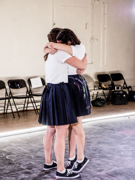 Violeta Picayo and Déa Julien 📷  Carol Julien