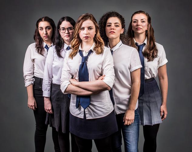 Déa Julien, Amie Tedesco, Alyssa May Gold, Madeline Wolf and Violeta Picayo 📷  Ashley Garrett