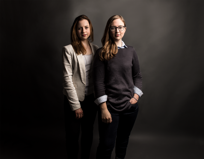 Alyssa May Gold (Producer) and Katie Young (Director) of Julius Caesar 📷  Ashley Garrett