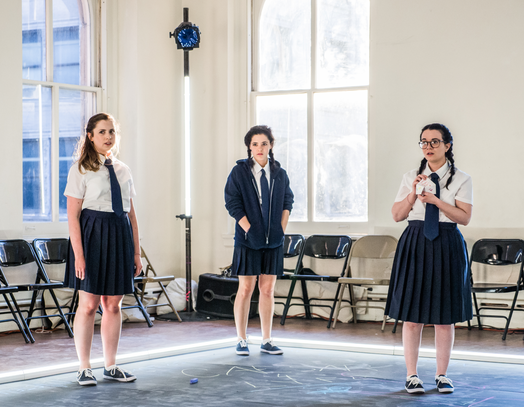 Alyssa May Gold, Madeline Wolf and Amie Tedesco 📷  Carol Julien