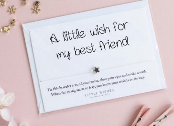 A wish for a friend bracelet