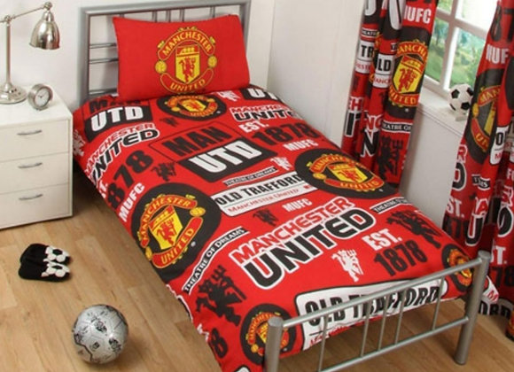 Manchester United bedsheets