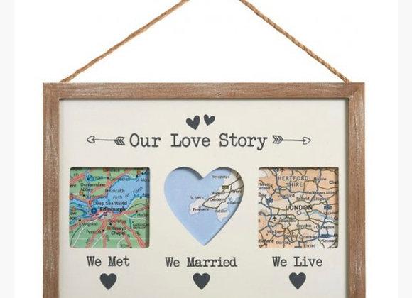 Our Love Story Frame [30cm]