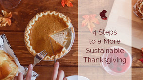 4 Quick Steps to a More Sustainable Thanksgiving