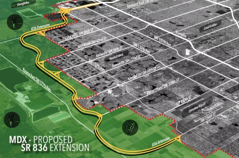 Approved Dolphin Expressway Expansion
