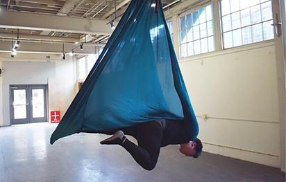 Aerial Yoga Hammock Instructor