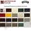 Colores para Protectores de Metales Hammerite