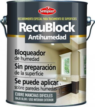 Sinteplast Recublock antihumedad