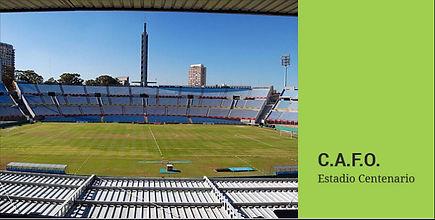 Estadio Centenario - Centrocolor Pinturas   Linemark
