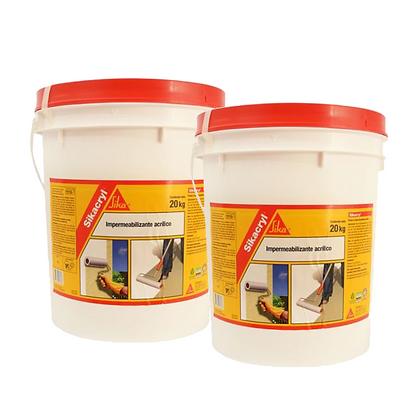Sikacryl Impermeabilizante 20 + 20 Kgs